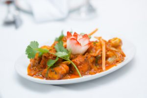 Indian curry in the city of London